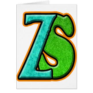 ZS - Zombie Squash TM Greeting Card