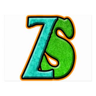 ZS - Zombie Squash TM Postcard