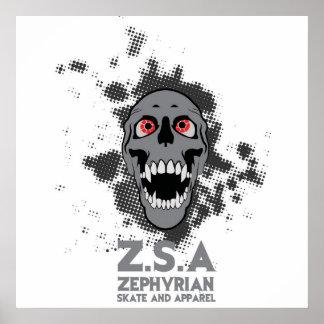 ZSA Reincarnate Skull Poster