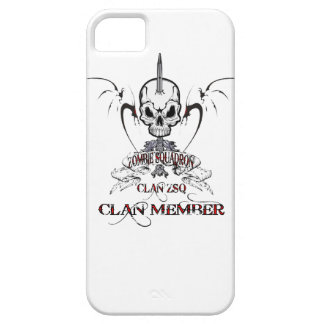 ZSQ Clan Member iPhone 5 Cover