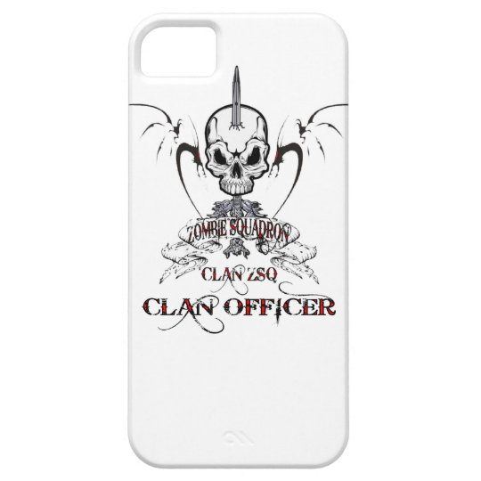 ZSQ Clan Officers iPhone SE/5/5s Case