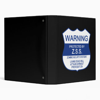 ZSS (Zombie Security Systems) Binder