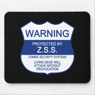 ZSS (Zombie Security Systems) Mouse Pad
