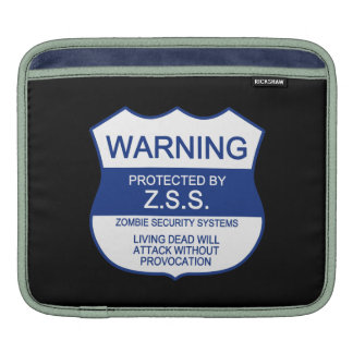 ZSS (Zombie Security Systems) Sleeve For iPads