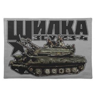 ZSU-23-4 Shilka Cloth Placemat