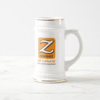 Zsweet® 22 onzas. Blanco y taza de Stein del oro