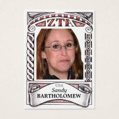 ZTA ATC - Trading Card at Zazzle