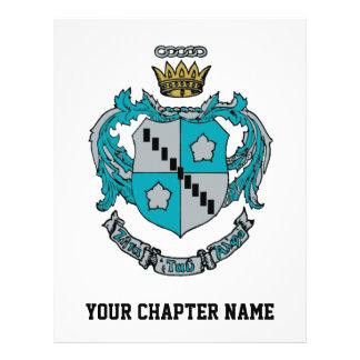 """ZTA Crest Color 8.5"""" X 11"""" Flyer"""