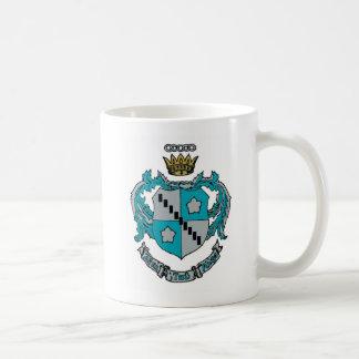 ZTA Crest Color Classic White Coffee Mug