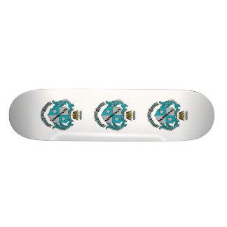 ZTA Crest Color Custom Skateboard