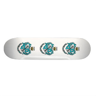 ZTA Crest Color Skateboard Deck