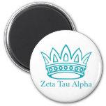 ZTA Crown with ZTA 2 Inch Round Magnet