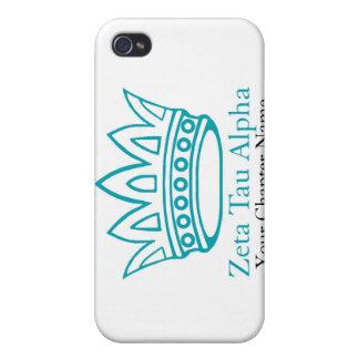 ZTA Crown with ZTA iPhone 4 Case