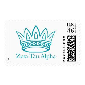 ZTA Crown with ZTA Postage Stamp