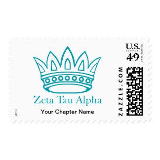ZTA Crown with ZTA Postage Stamps
