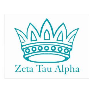 ZTA Crown with ZTA Postcard