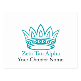 ZTA Crown with ZTA Postcards