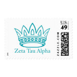 ZTA Crown with ZTA Stamps