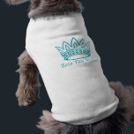 "ZTA Crown with ZTA T-Shirt<br><div class=""desc"">Zeta Tau Alpha Fraternity</div>"