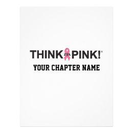 ZTA Think Pink! Flyer