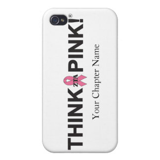 ZTA Think Pink! iPhone 4/4S Cases