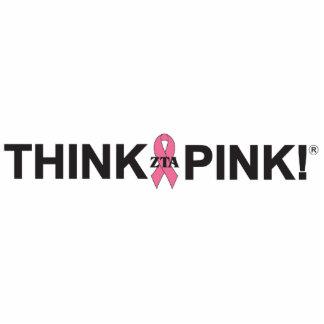 ZTA Think Pink! Photo Cut Out
