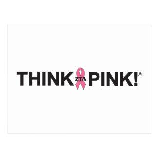 ZTA Think Pink! Post Cards