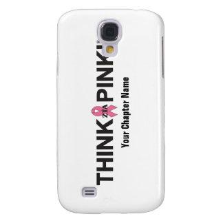 ZTA Think Pink! Samsung Galaxy S4 Cases