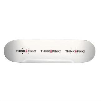 ZTA Think Pink! Skate Decks
