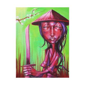 """Zu Warrior"" 16x20 on Gallery Wrapped Canvas Print"