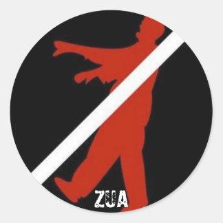 ZUAzombie Sticker