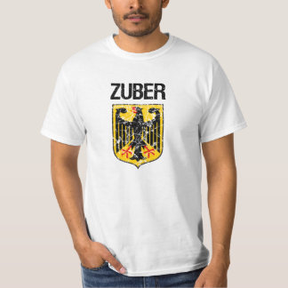 Zuber Last Name T Shirts