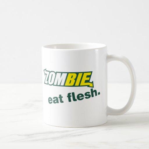 Zubway Classic White Coffee Mug