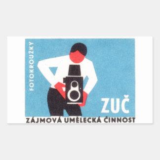 Zuc Camera Rectangular Sticker