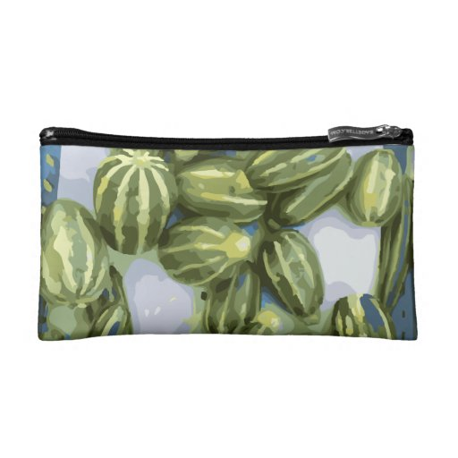 Zucchini and Winter Squash Harvest Cosmetic Bag