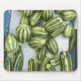 Zucchini and Winter Squash Harvest Mouse Pad