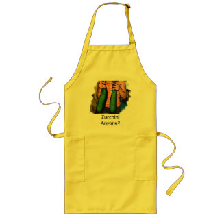 Zucchini Anyone? Long Apron