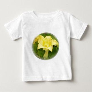 Zucchini Blossom in Swirl Baby T-Shirt