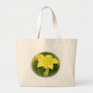 Zucchini Blossom in Swirl Bag