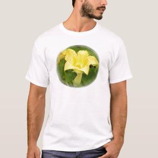 Zucchini Blossom in Swirl T-Shirt
