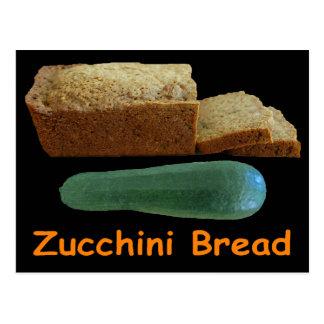 Zucchini Bread Post Card