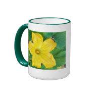 Zucchini Flower mug