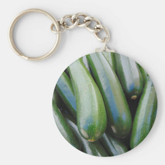 Zucchini Keychain