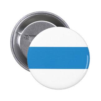 zug province Switzerland swiss flag text name Pinback Buttons