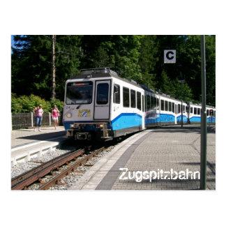 Zugspitzbahn Postcard