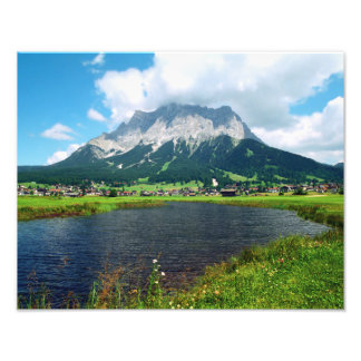 Zugspitze Arena Photo Print