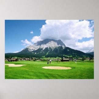 Zugspitze Arena Print