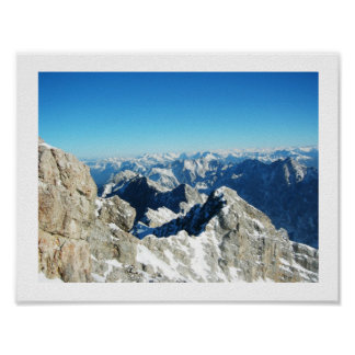 Zugspitze,Germany Poster