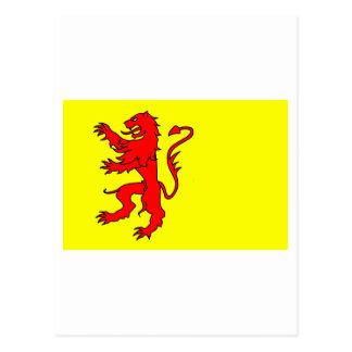 Zuid-Holland Flag Postcard