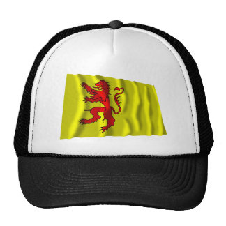 Zuid-Holland Waving Flag Trucker Hat